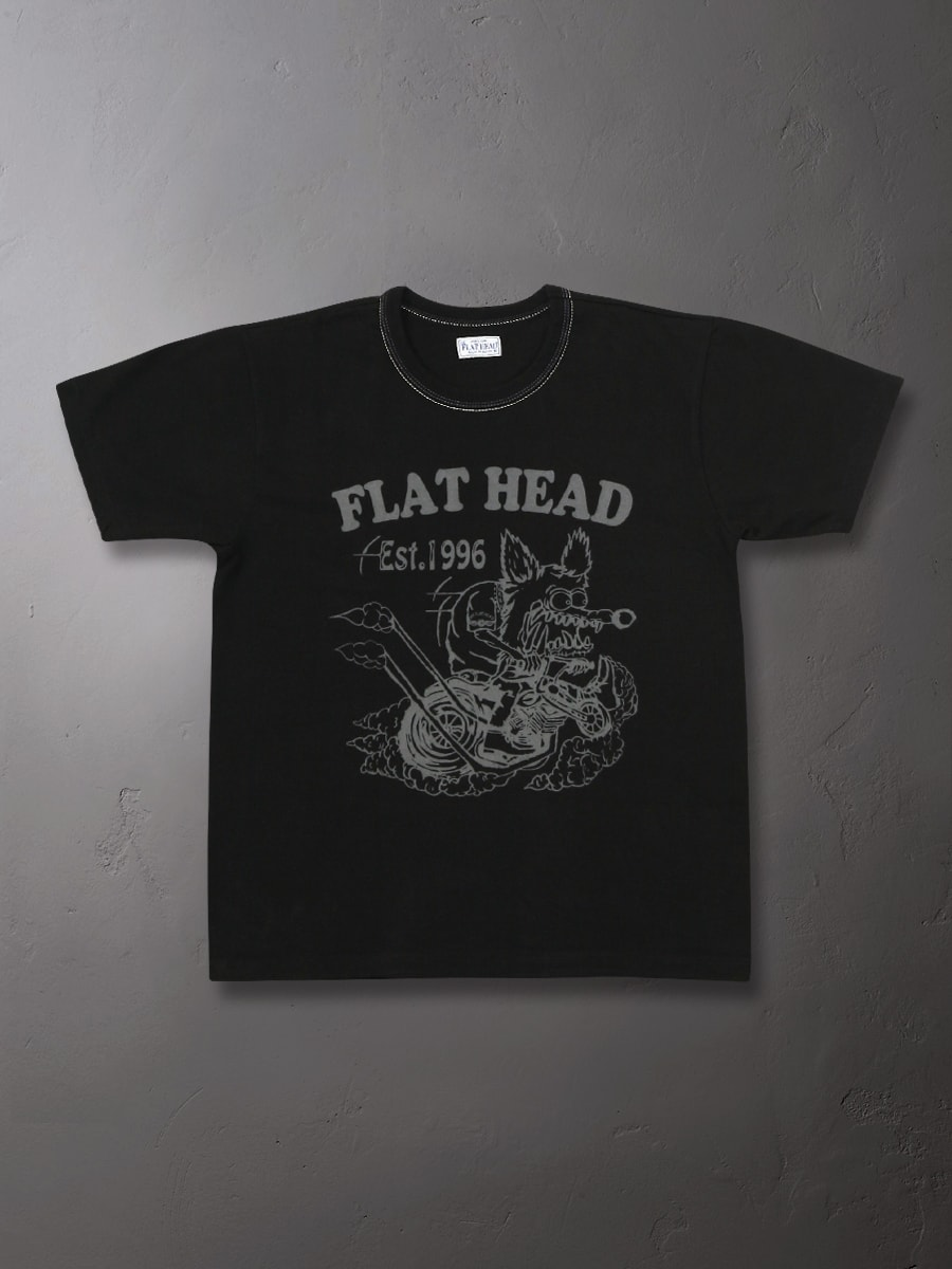 3本針の1本外し Tシャツ FN-THC-014