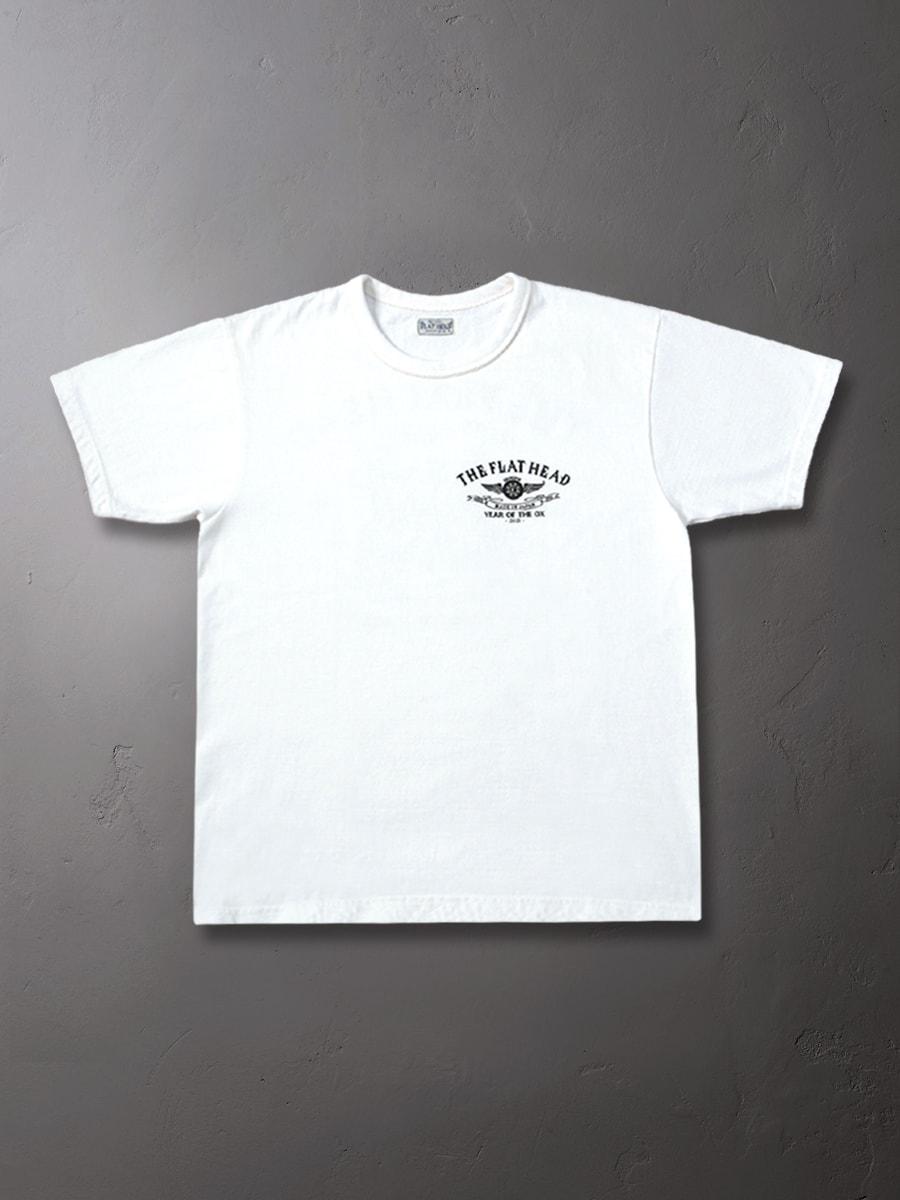 小松美羽 干支 Tシャツ 丑 FN-THC-KM12