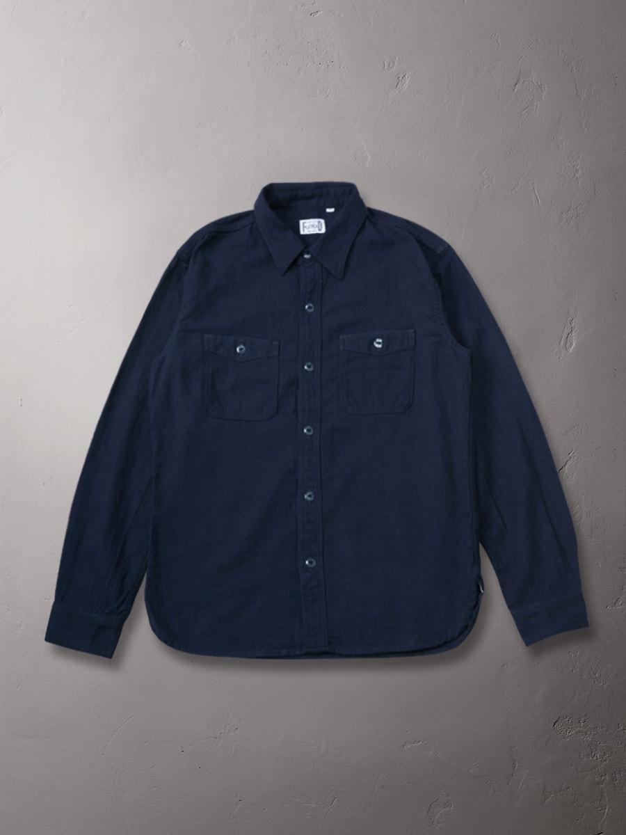 インディゴドビー ワークシャツ FN-CO-14W