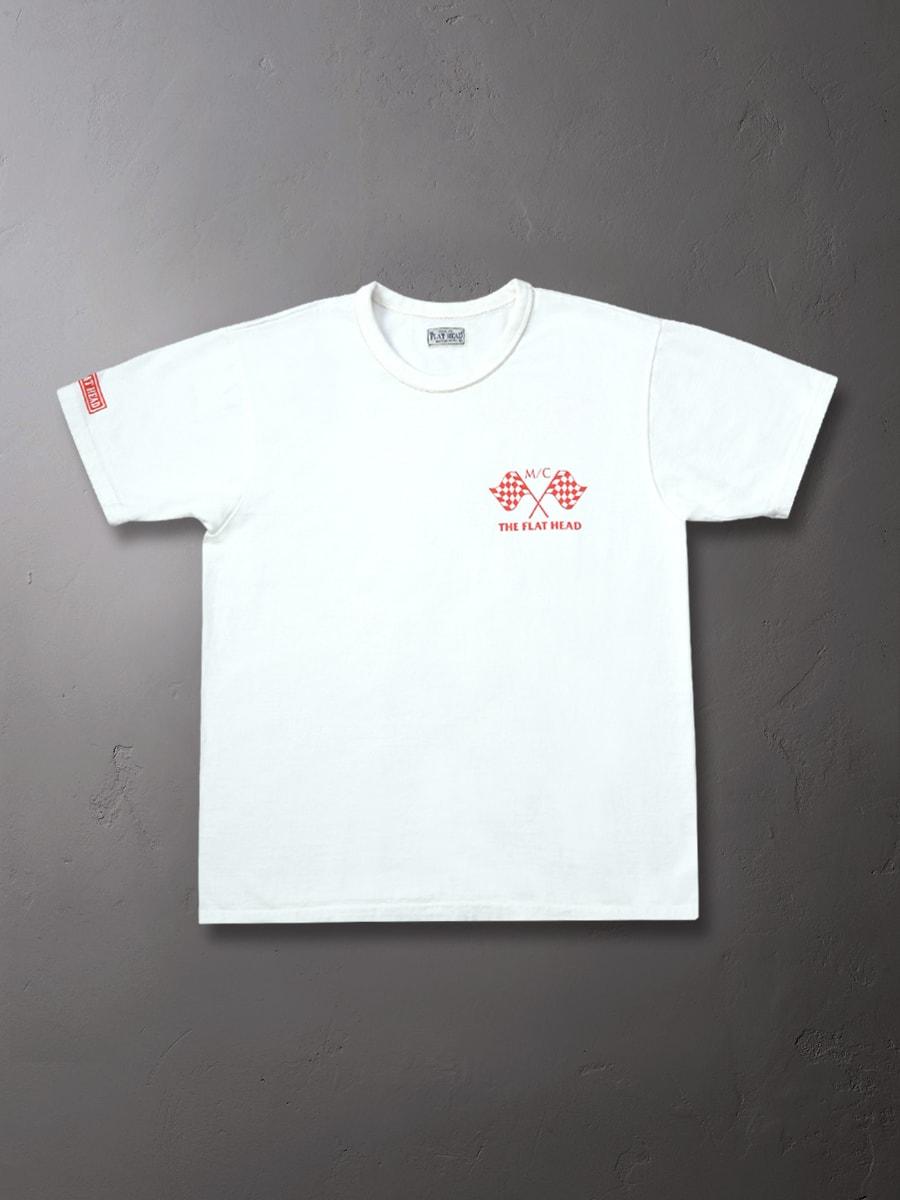 3本針の1本外し Tシャツ FN-THC-017