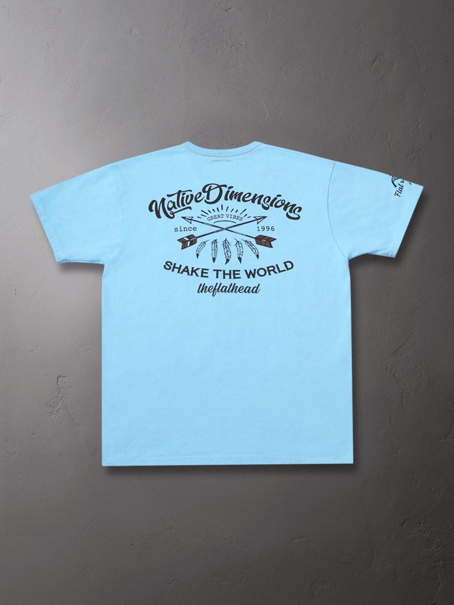 3本針の1本外し Tシャツ FN-THC-018