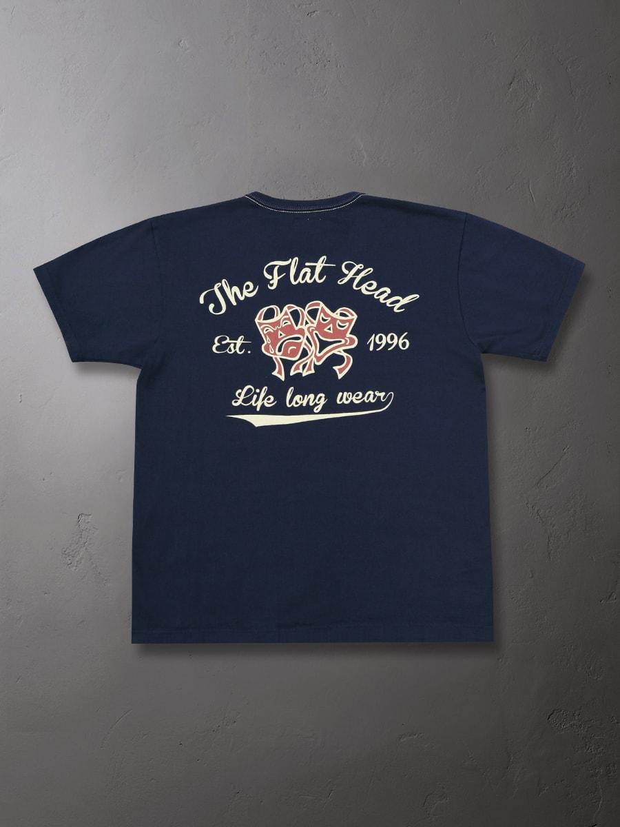 3本針の1本外し Tシャツ FN-THC-021