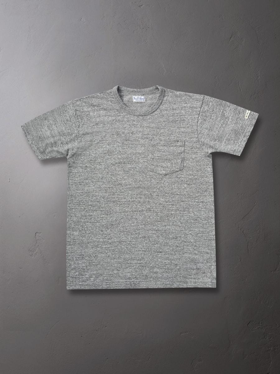 ポケット Tシャツ 旧式吊編み機生地 FN-TKT-001P