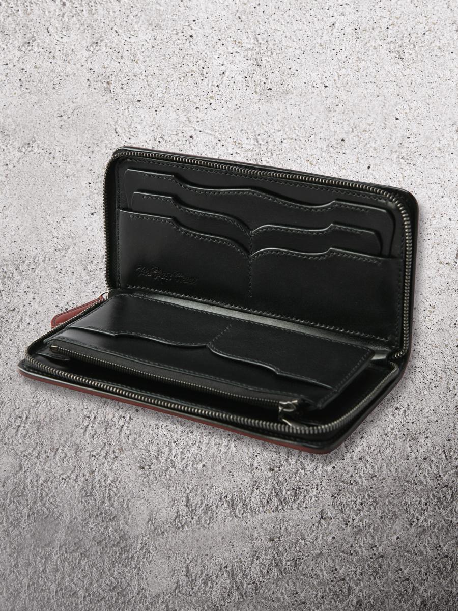 コードバン 多脂革 フルジップウォレット FN-WLZ1-3Z