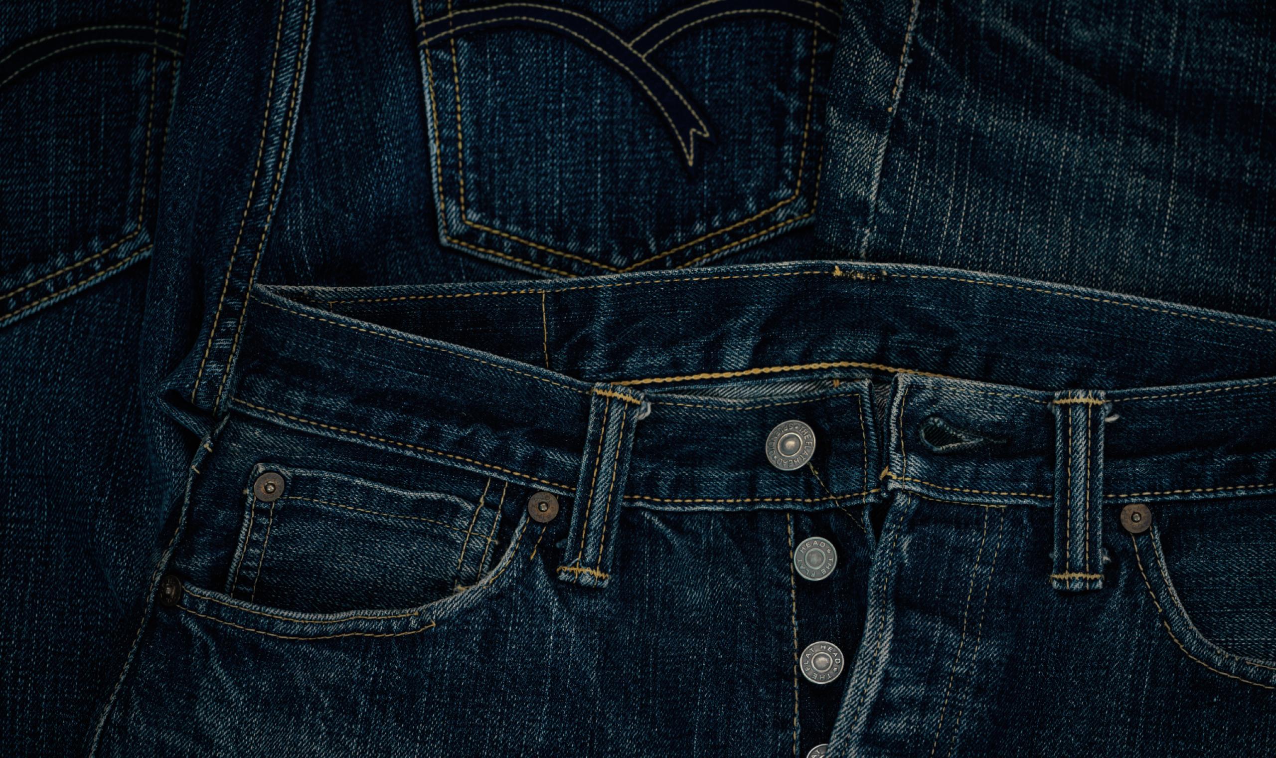 着る人を主役にする世界一のジーンズ
