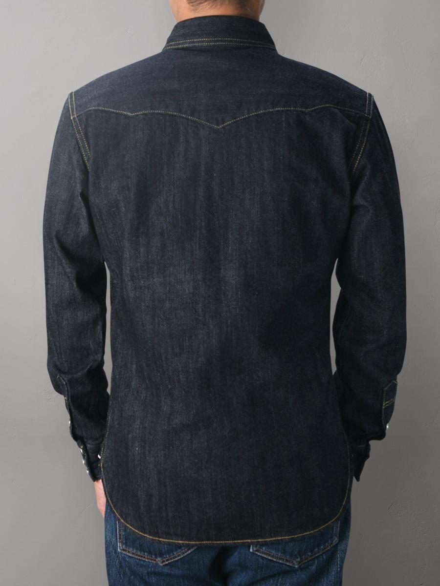 デニム ウエスタンシャツ FN-SDW-001L