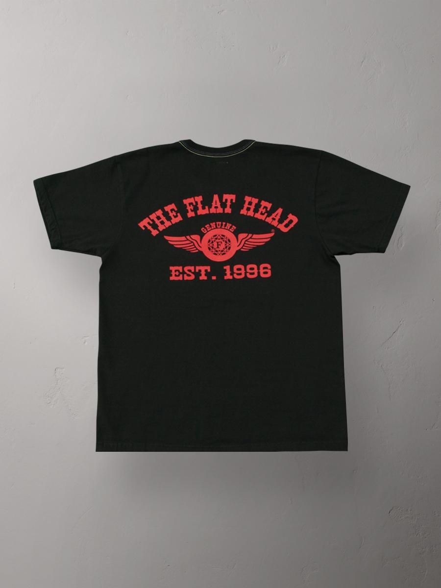 3本針の1本外し Tシャツ FN-THC-002
