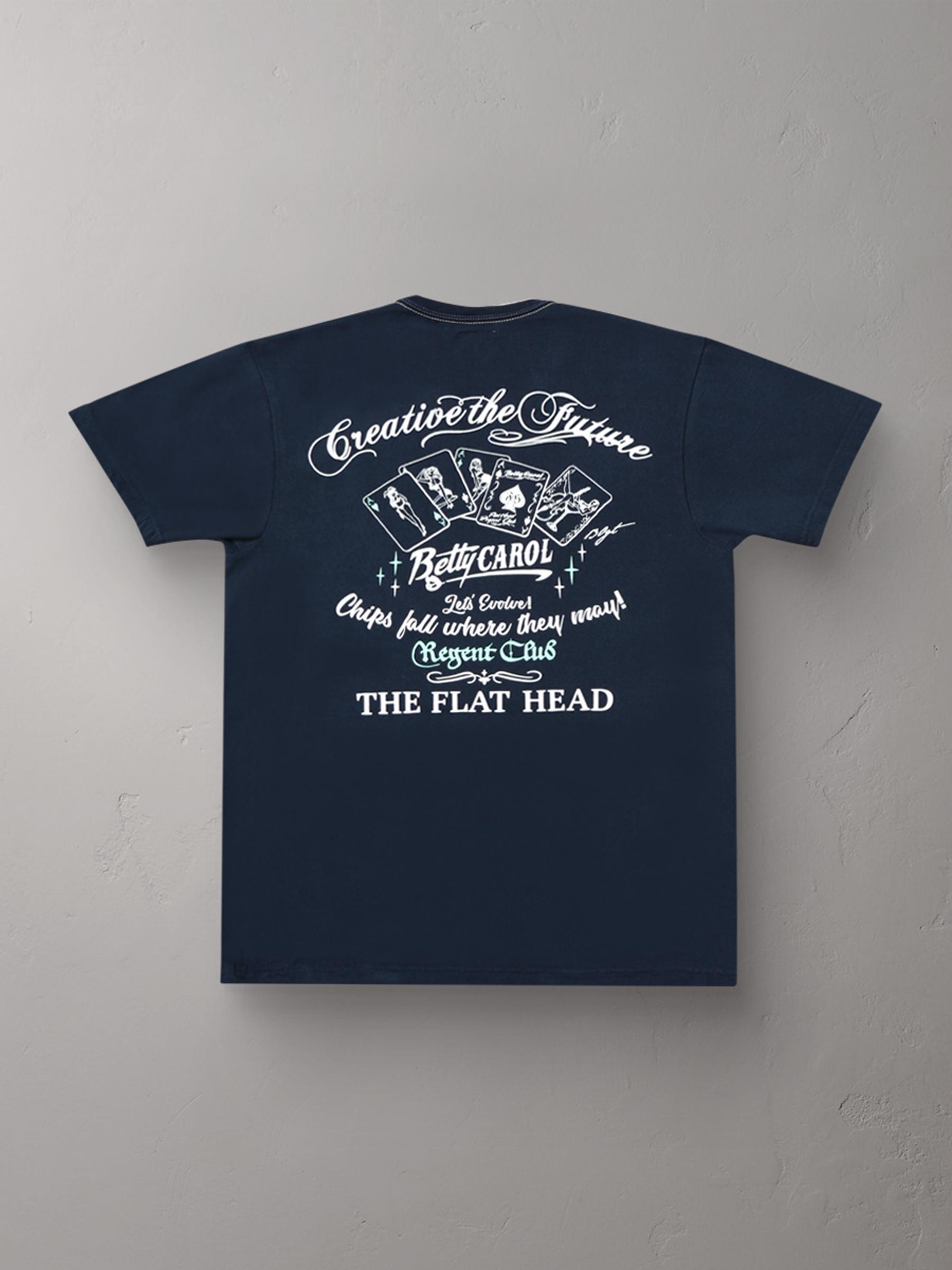 3本針の1本外し Tシャツ FN-THC-023