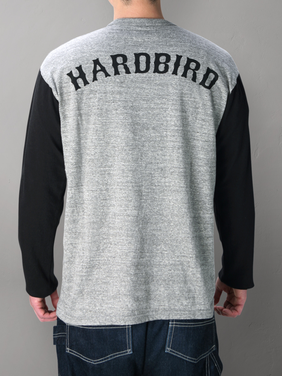 ハードバード ツートン 長袖 Tシャツ HB-TLCL-003
