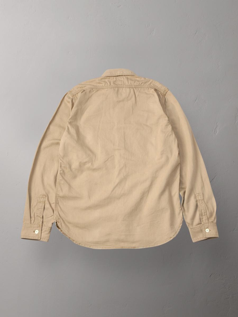 ヘリンボーン ワークシャツ FN-SCK-004L